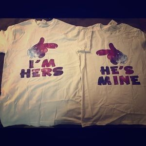 His and her shirts